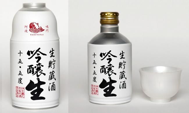 ナルトタイ 生貯蔵酒 吟醸生300ml(白・ミニ缶)