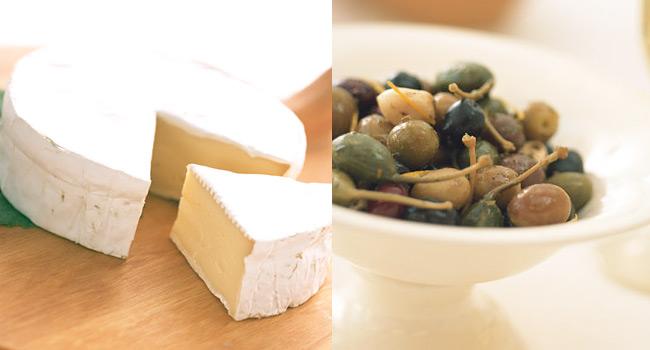 カマンベールチーズに合う